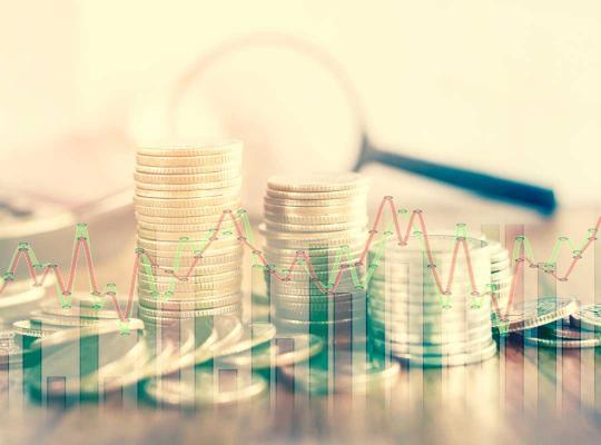 Geld en grafieken